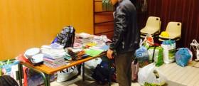 Chenôve (Côte d'Or) collecte une demi tonne de fournitures scolaires pour la Syrie
