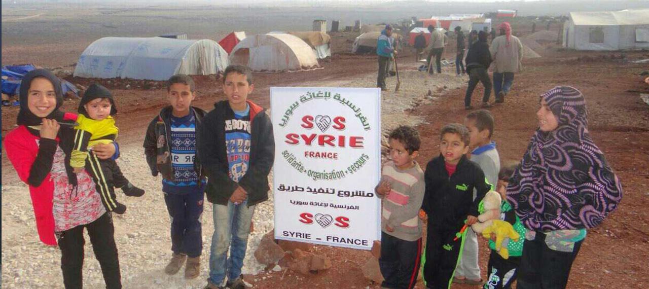 Grâce à vos dons, de nombreuses familles Syriennes ont peu passer l'Aid Al Adha dans les camps de réfugiés