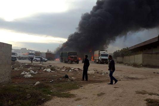 A Alep, les frappes très ciblées de l'aviation russe