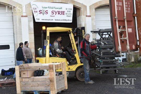 BAR-LE-DUC : SOS SYRIE TOUJOURS AU CHEVET DES RÉFUGIÉS