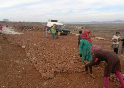 Financement d'une route par SOS Syrie