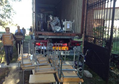 9 éme container envoyé