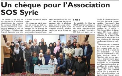 Catholiques et musulmans soutiennent SOS Syrie