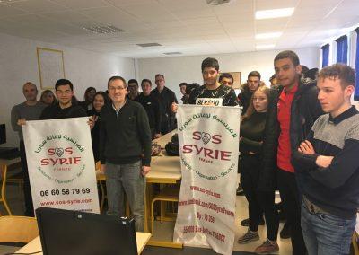 Conférence débat sur la situation en Syrie au Lycée Émile Zola de Bar Le Duc