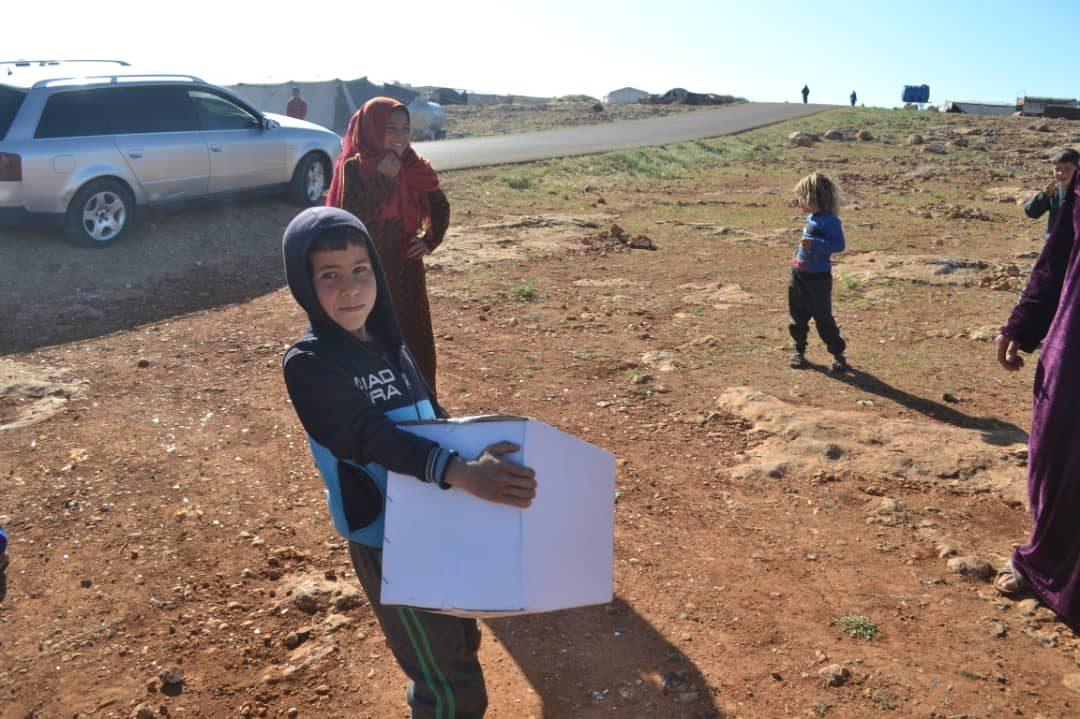 Ramadan 2019 – Distribution de colis alimentaires au nord de la Syrie