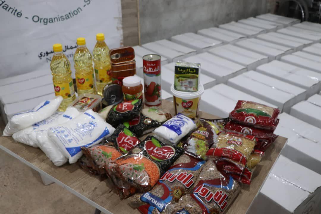 Distribution de colis alimentaire pendant le COVID19